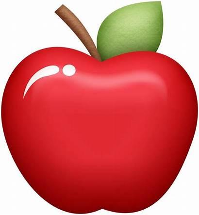 Manzana Clipart Clip Pomegranate Fruit Manzanas Smiley