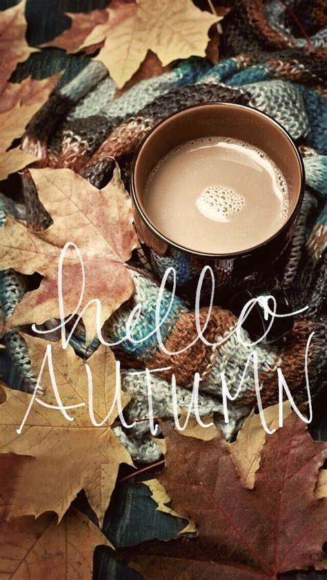 Aesthetic Cozy Fall Backgrounds Desktop by Autumn Background Wallpaper Hello Fall Fall Background