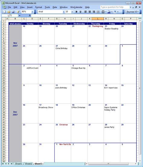 jmebret page  calendar template
