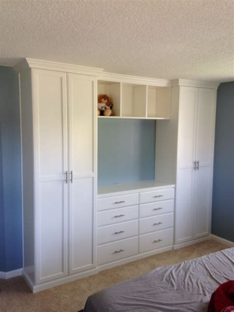 Bedroom Set With Wardrobe Closet by 30 Ideas Of Built In Wardrobes With Tv Space