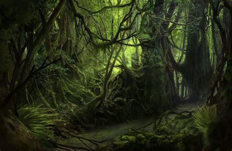 Ratchet And Clank Wallpaper La Selva Jungle Paint By Solfour On Deviantart