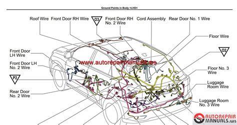 lexus rx   wiring diagram auto repair