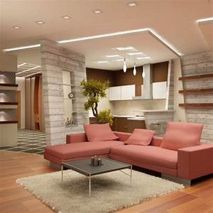 Decoration Faux Plafond : decoration faux plafond salon ~ Melissatoandfro.com Idées de Décoration