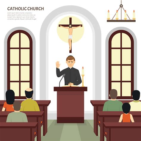 Catholic Church Priest Download Free Vectors Clipart