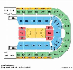 Boardwalk Hall Seating Chart Seating Charts Tickets