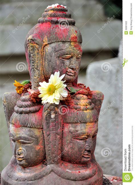 lingam worship stock photography image