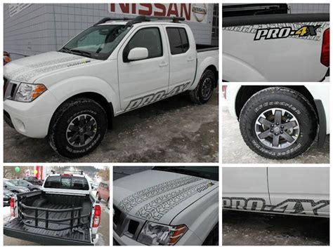 nissan frontier decal 2014 nissan frontier crew cab pro 4x leather navigation