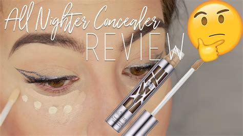 full coverage urban decay  nighter concealer