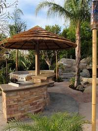 interesting tropical outdoor kitchen ideas Tropical Outdoor Kitchen Bar Design Ideas
