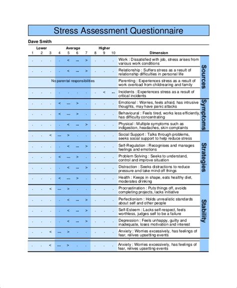 54+ Questionnaire Samples  Pdf, Word, Pages  Sample Templates