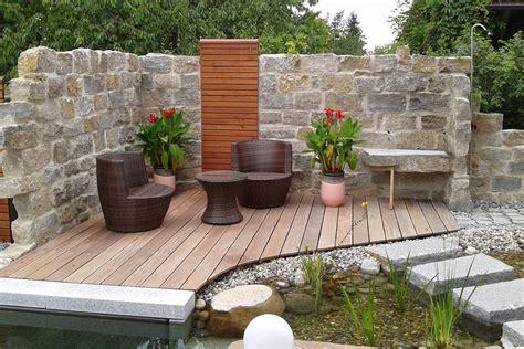 Gartengestaltung Mit Sitzecke by Garten Und Schwimmteich Galerie Rieper Silbernagl