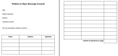 petition template 30 free petition templates how to write petition guide free template downloads