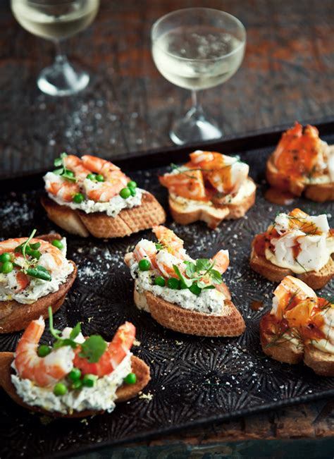 canape recipes to freeze what ate fresh prawn crostini with caper green