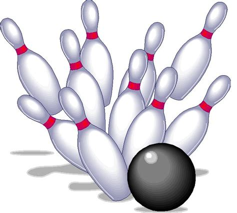Bowling Pin Clipart With 4 Boys Free Summer Entertainment For Children