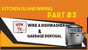 Kitchen Island Wiring   Part  3 Wiring Garbage Disposal