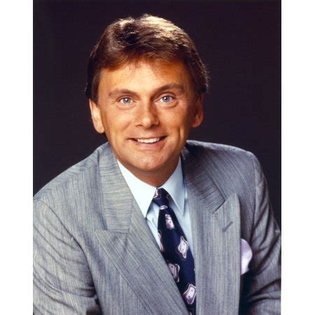 pat sajak  blue coat portrait photo print walmartcom