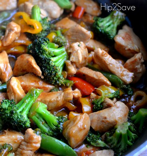 chicken stir fry recipes easy ginger garlic chicken stir fry recipe dishmaps