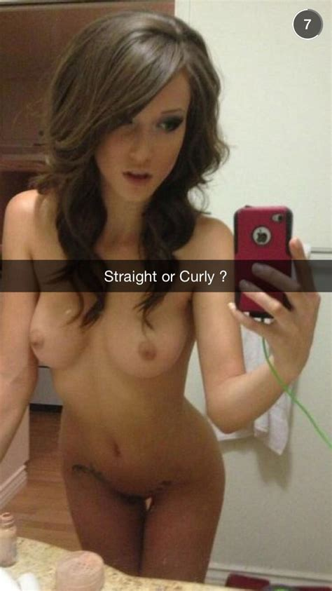 Leaked Sexy Girlfriends Nude Snapchat Pics