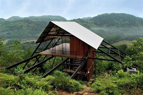 hillside cabin plans cabins from around the for the modern hermit