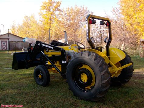 Tractordatacom Massey Ferguson 3165 Industrial Tractor