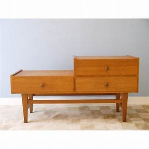 Meuble Scandinave Vintage : meuble appoint vintage scandinave entree annee 60 la maison retro ~ Teatrodelosmanantiales.com Idées de Décoration