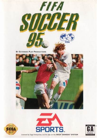 Fifa 95 Soccer Genesis 1994 Covers Mobygames