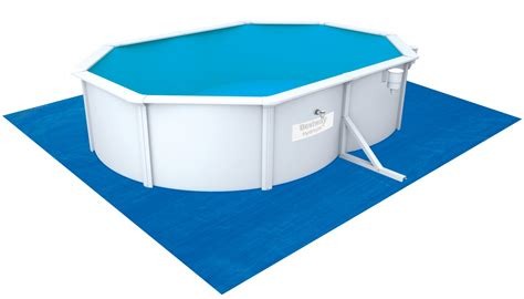 bestway swimming pool oval 500 x 360 x 120 cm