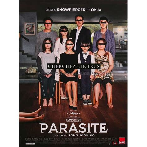 PARASITE Movie Poster 15x21 in.