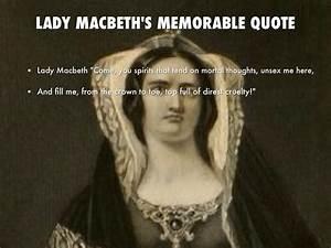 Macbeth's S... Macbeth Scene Quotes
