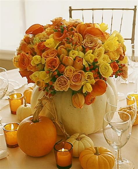 thanksgiving centerpieces 42 amazing flower decorations for a thanksgiving table digsdigs
