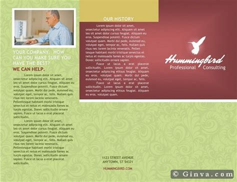 microsoft office brochure templates ginva