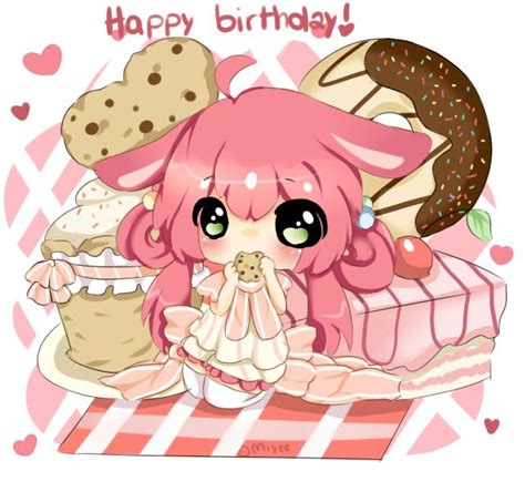 Anime Birthday Wallpaper - happy birthday pastelu by miyee deviantart on