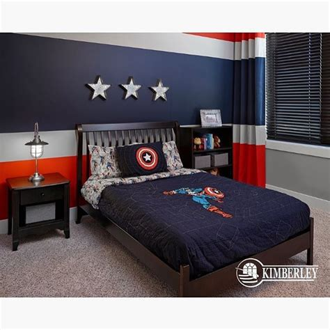 captain america bedroom how is this captain america themed room credit to