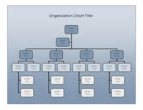 corporate design erstellen company organizational chart blue gradient design business charts templates
