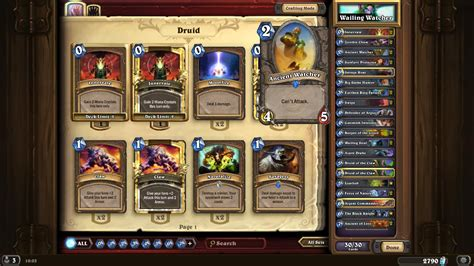 Hearthstone Deck Types Reddit by Deck Guide Naxx Re Imagined Watcher Druid Which Got Me