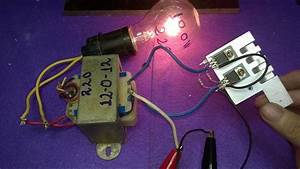 Make Inverter 12v To 220v 200w  Simple Circuit Diagram