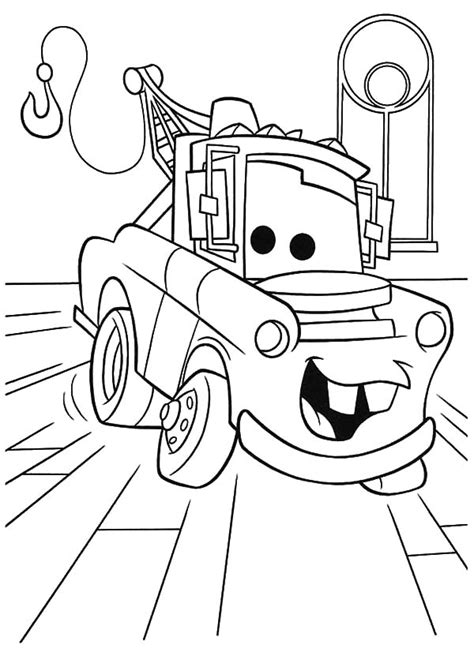 cars characters drawings how to draw tow mater coloring pages how to draw tow
