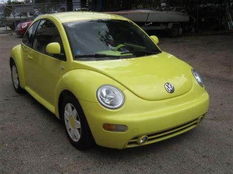 find used 2000 volkswagen beetle gls hatchback 2 door 2 0l quot as a bug quot in fort lauderdale