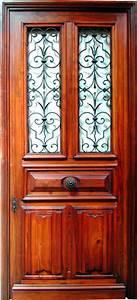 entree vitree a grille noyer patinee portes d39entree With grille porte d entrée