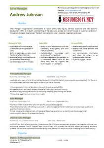 it manager resume 2017 sales manager resume template 2017
