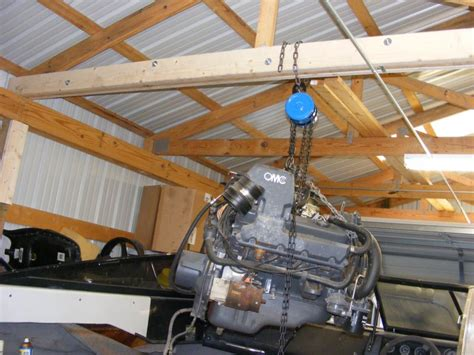 How To Build A Boat Engine Hoist by Wood Engine Hoist Ftempo