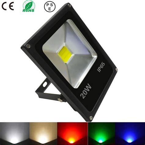 luminaire exterieur a led 20w led flood light garden spotlight outdoor le projecteur led rgb eclairage exterieur
