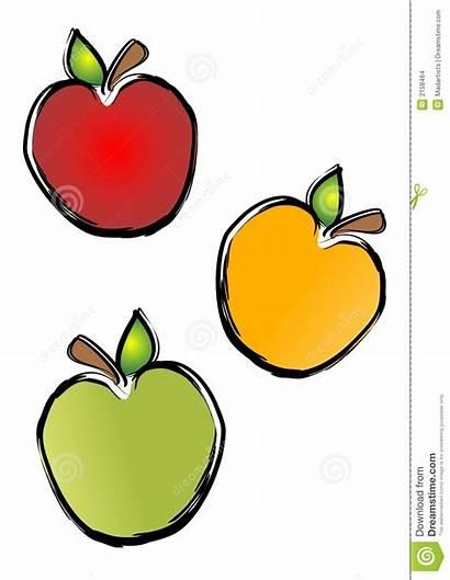 Apple Clip Clipart Illustrations Pommes Appel Graphiques