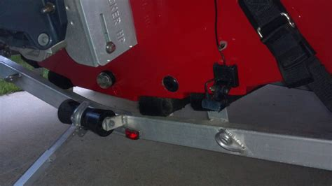 Bass Boat Jack Plate Setup by Mounting Humminbird Si Transducer On Jackplate Marine