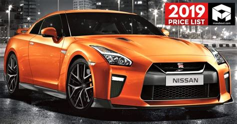 Cars List by 2019 Nissan Cars Suvs Price List In India Lineup