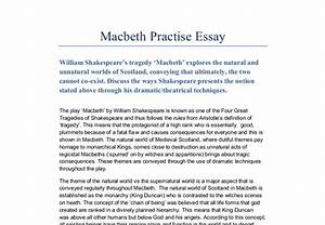 Essay Papers Examples Macbeth Supernatural Essay Conclusion Examples Political Science Essay Topics also Personal Essay Thesis Statement Examples Macbeth Supernatural Essay Write A Paper For You Macbeth  Examples Of Thesis Statements For Essays
