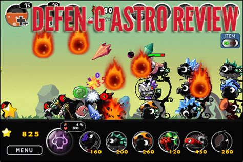 Defen G Astro Iphone Game Review 2d Side Scrolling