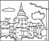Mansion Coloring Pages Bird Houses Flying 1003px 39kb 1200 Template sketch template
