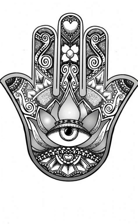 Tribal Tattoo Ideas for Shoulder And Chest | Hamsa hand tattoo, Hand tattoos, Hamsa tattoo