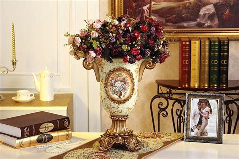 european luxury jewelry display ceramic vase home